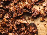 GRAIN-FREE CHOCOLATE SEA SALT GRANOLA HUNKS - The First Mess