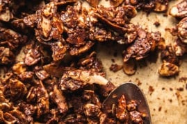 GRAIN-FREE CHOCOLATE SEA SALT GRANOLA HUNKS - The First Mess