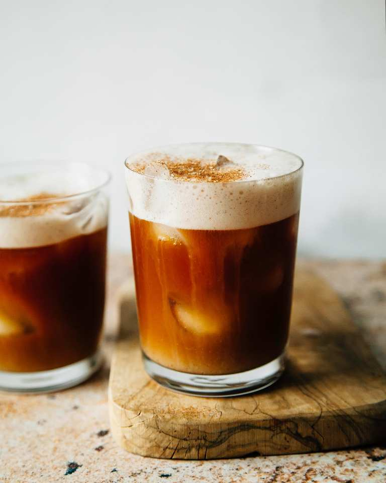 FROTHY SPICED COLD BREW - The First Mess