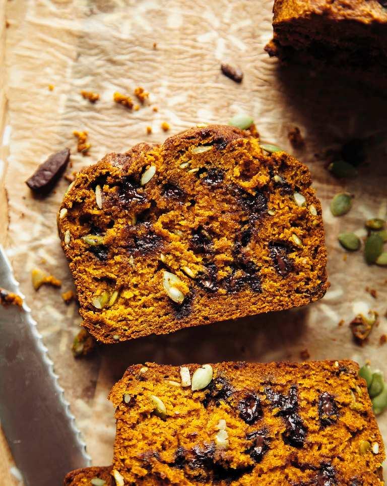 Vegan Spelt Pumpkin Bread
