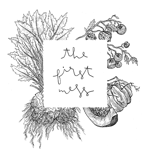 The First Mess // Plant-Based Recipes + Photography by Laura Wright logo
